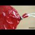 Карман для колбасы фиброуз., вишня, 50 мм, длина 31 см, клипса с петлей - 1 шт.